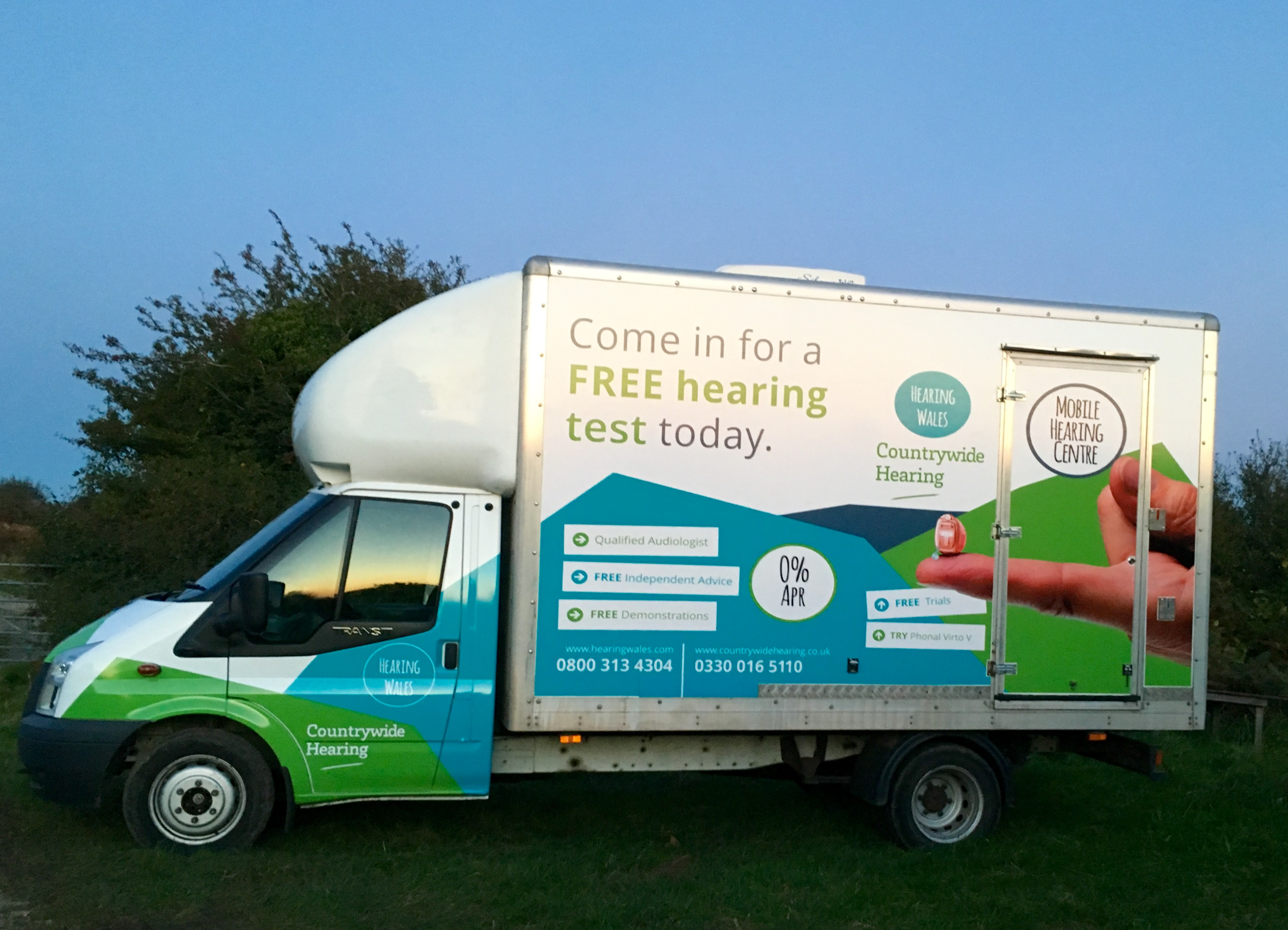 Hearing aids, free hearing tests & hearing healthcare across Wales
