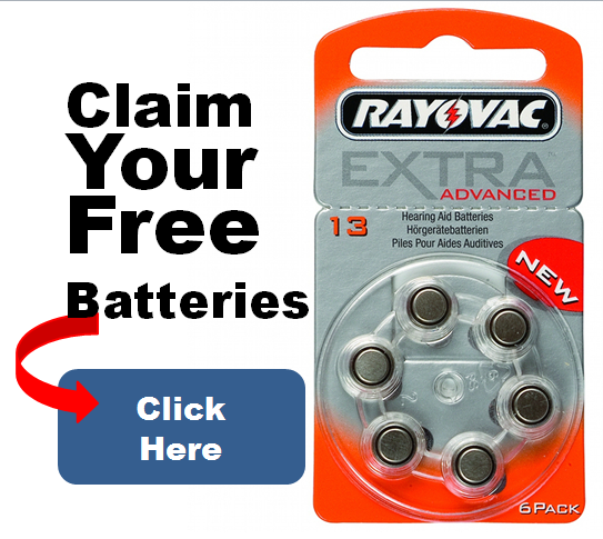 Claim Free Hearing Aid Batteries