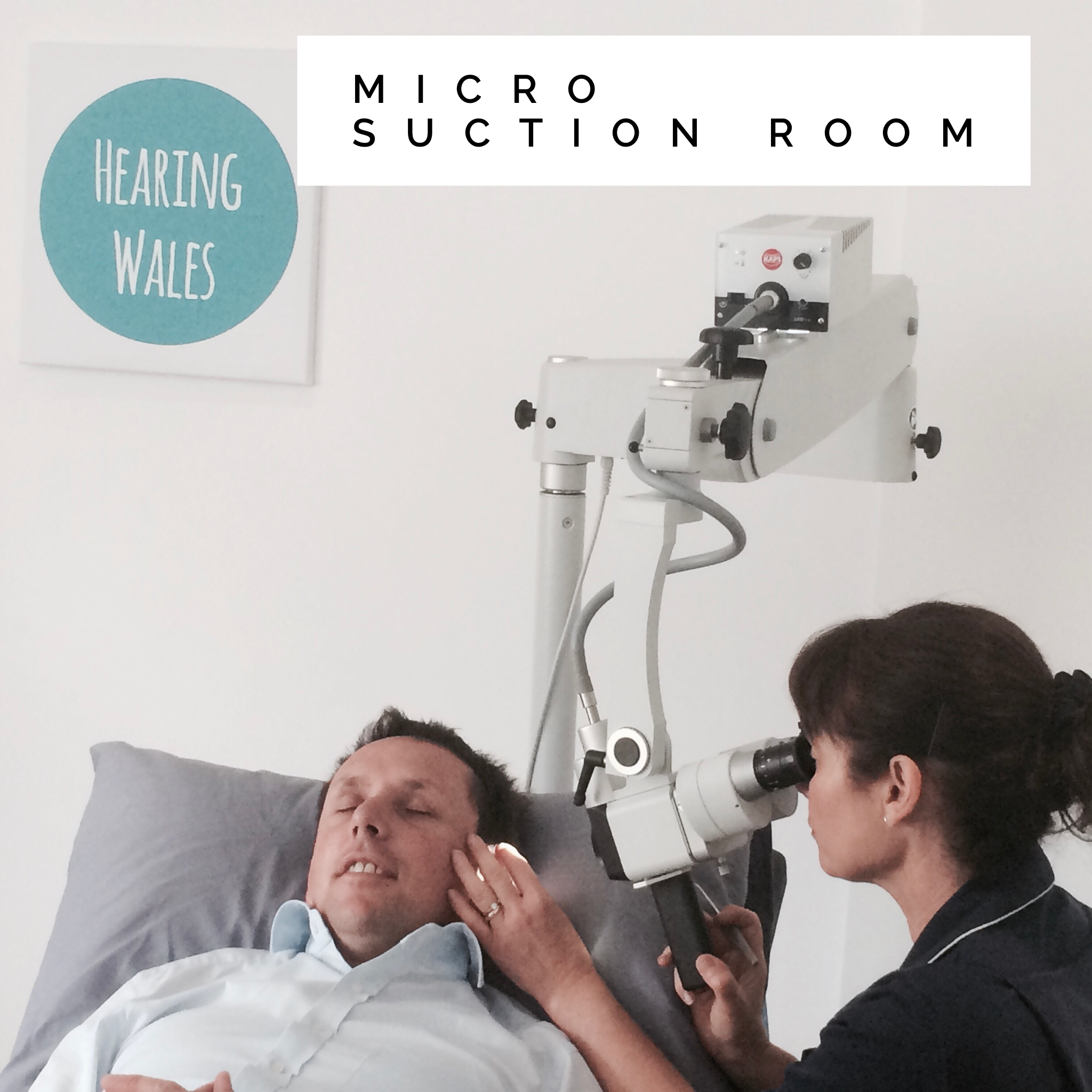 Hearing Wales Swansea Hearing Centre Ear Wax Removal Uplands Micro Suction Room