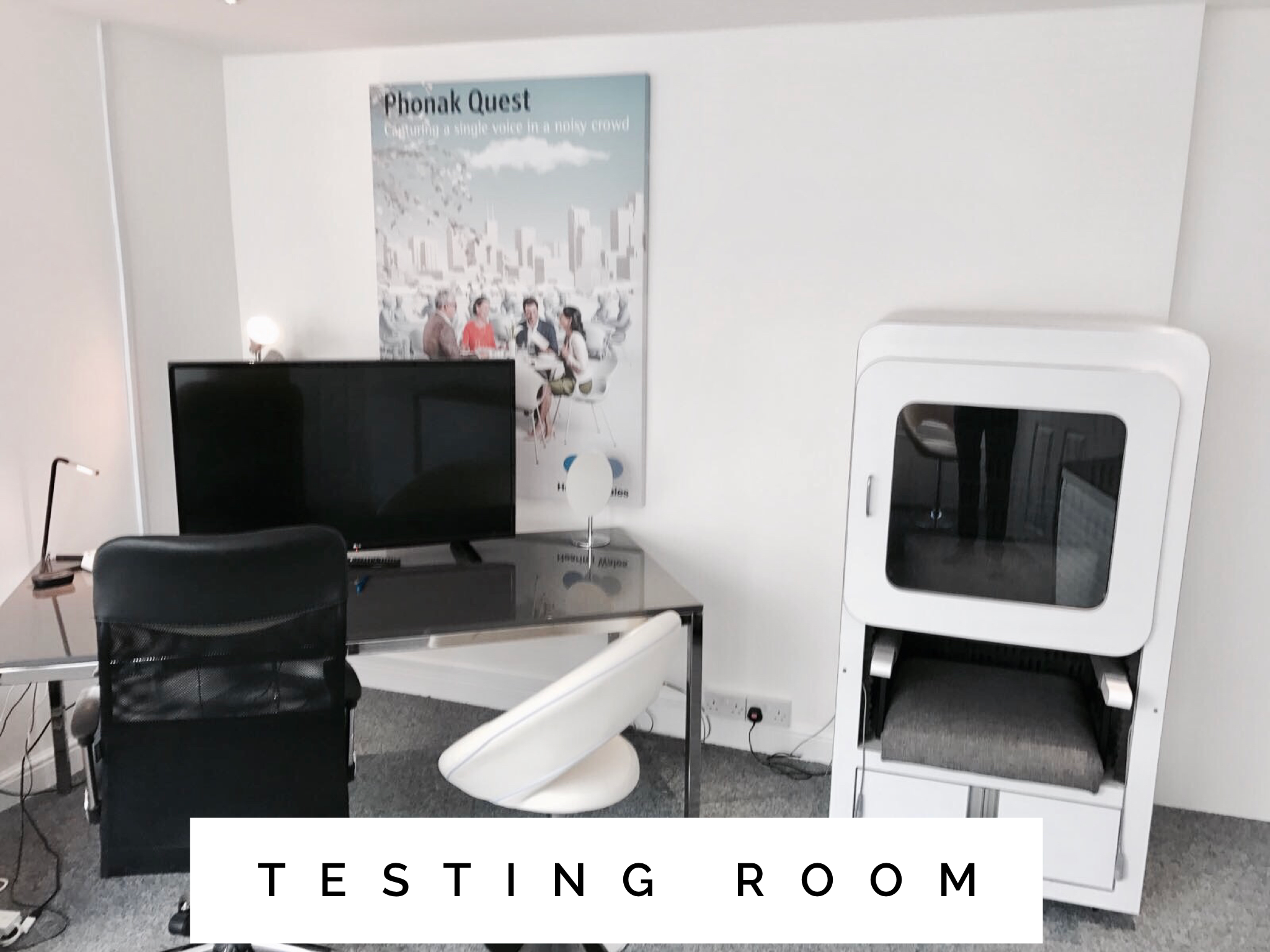 Hearing Wales Swansea Hearing Clinic Free Hearing Test Sound Proof Booth