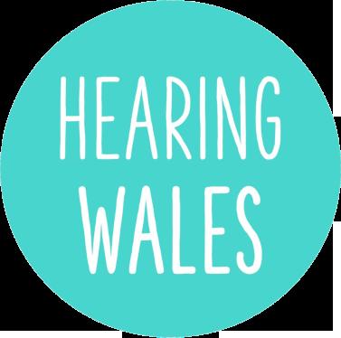 Hearing Wales logo