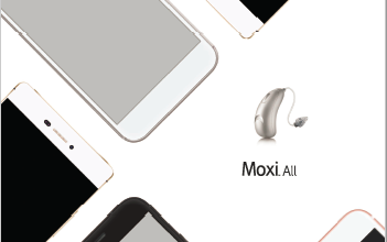 UNITRON MOXI ALL RECHARGABLE MADE FOR PHONE MADE FOR IPHONE HEARING AIDS