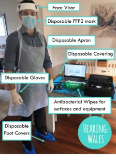 PPE hearing care, PPE hearing, PPE, hearing loss, hearing care, safe hearing aids